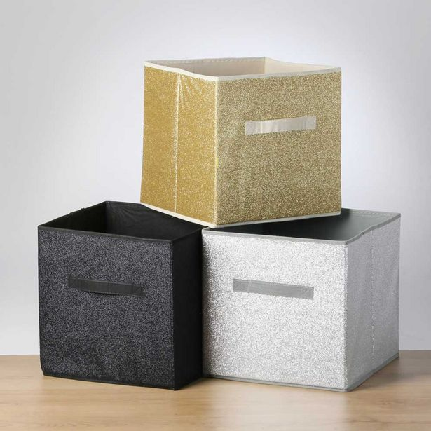 Storage Solutions Yuri Storage Box Assorted offer at $14.99