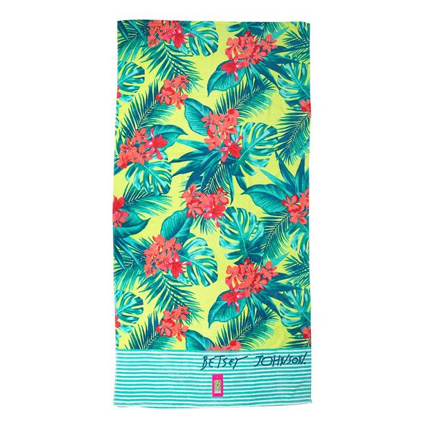 Luv Betsey Tropical Paradise Beach Towel offer at $49.99