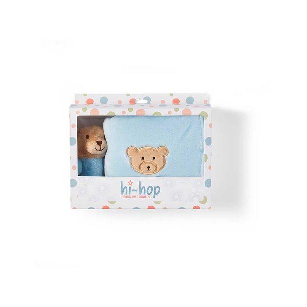 Hi-hop Teddy Bear Toy & Blanket Set offer at $39.99