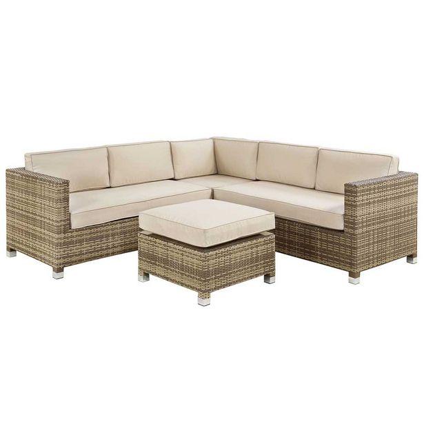 Amalfi Woven Hill Wicker Corner Sofa Set offer at $2999.99