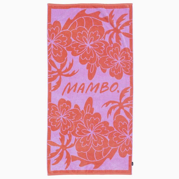 Mambo Nani Beach Towel 80x160cm offer at $39.99