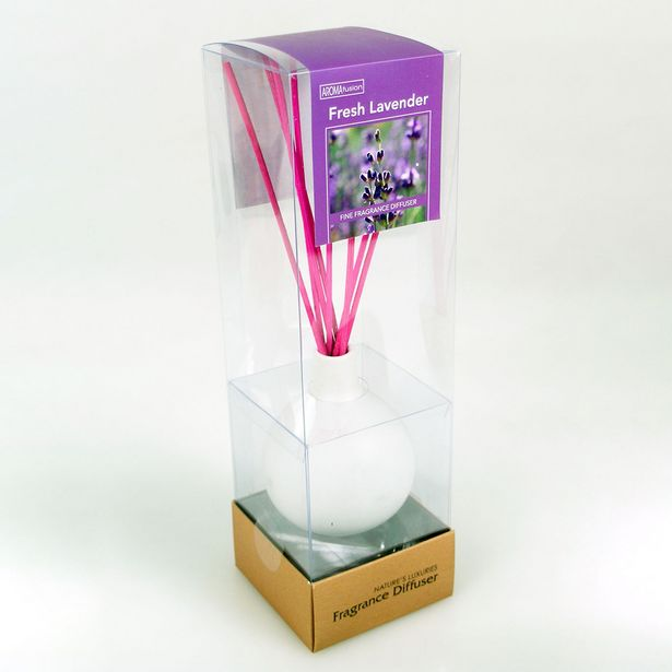 Lavender Diffuser Set With 70ml Oil & Colour Reeds offer at $9.99