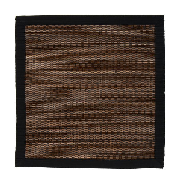 Just Home Rashida Black Placemat offer at $6.49