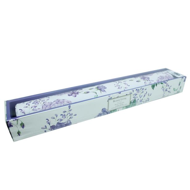 Boston Living Peony Collection Drawer Liner Set Floral Spice offer at $14.99