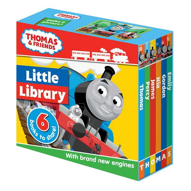 Thomas and Friends Little Library Book Set offer at $9.99