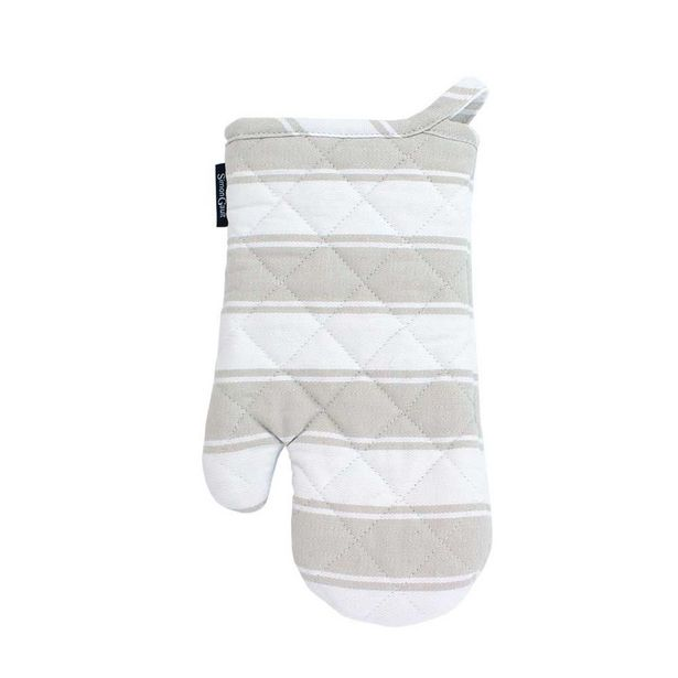 Simon Gault Butchers Stripe Oven Glove Taupe offer at $9.99