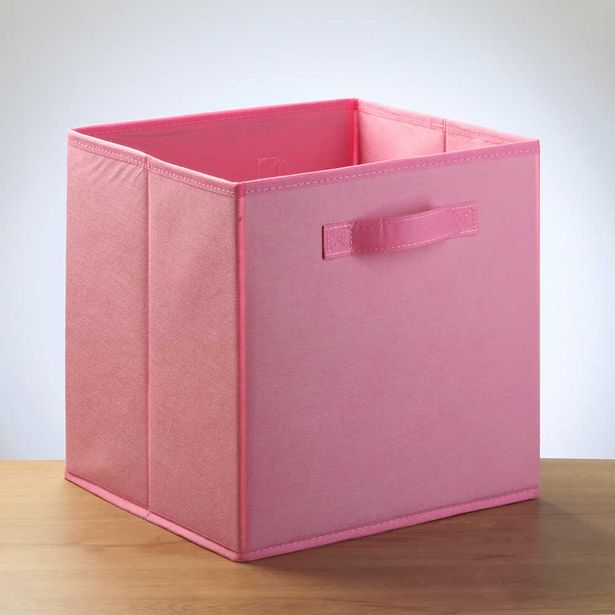 Sperlings Storage Cube Pink offer at $7.99
