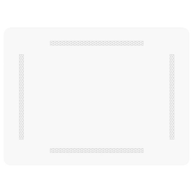 Just Home Clyde White Placemat Set 6 offer at $49.99