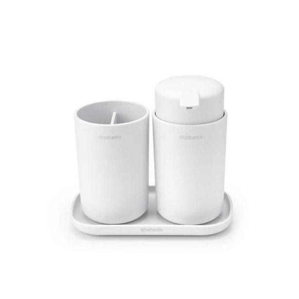 Brabantia Bathroom Accessory Set White offer at $79.99