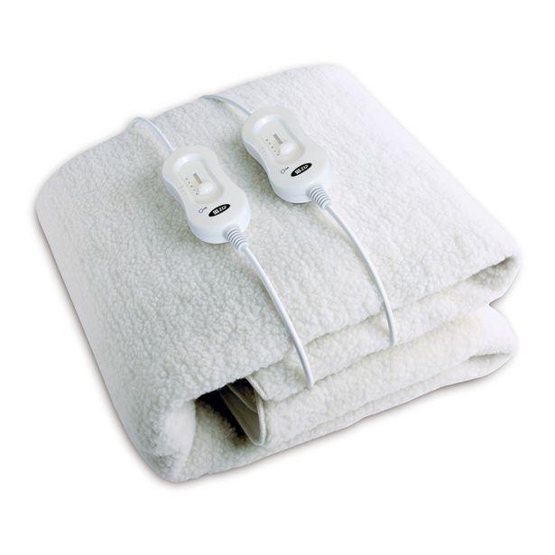 Zip Double Queen Fleece Fitted Electric Blanket offer at $179.99