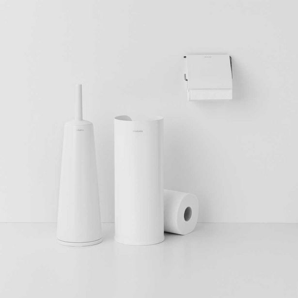 Brabantia Bathroom Set White 3pc offer at $159.99