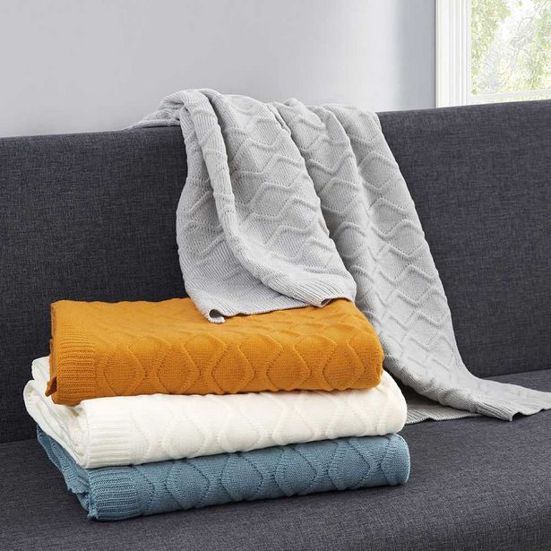 Hotel @ Home Cambridge Throw offer at $39.99
