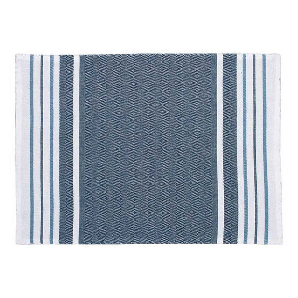 Just Home Abode Blue Placemat offer at $7.49