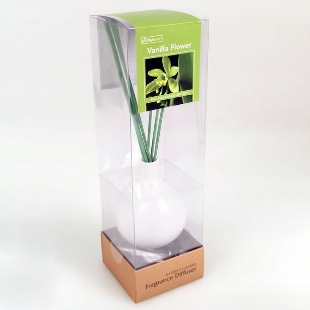 Vanilla Diffuser Set With 70ml Oil & Colour Reeds offer at $9.99
