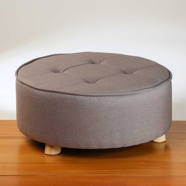 Home & Styling Pouf Dark Grey offer at $89.99