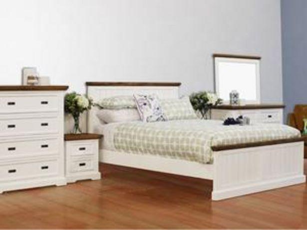 Hamptons 6 Piece King Bedroom Suite offer at $3699