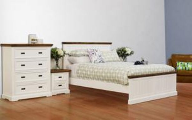 Hamptons 4 Piece King Bedroom Suite offer at $2599