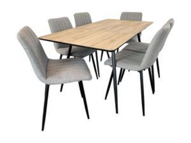 Astro 7 Piece Dining Suite offer at $1099