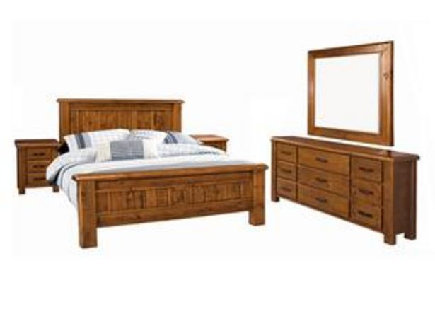 Farmhouse 5 Piece King Bedroom Suite offer at $2499