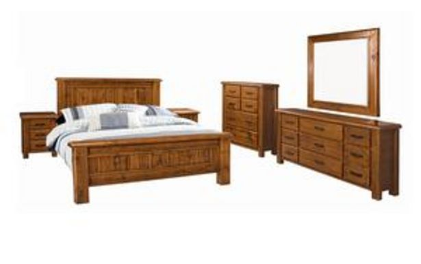 Farmhouse 6 Piece King Bedroom Suite offer at $3199
