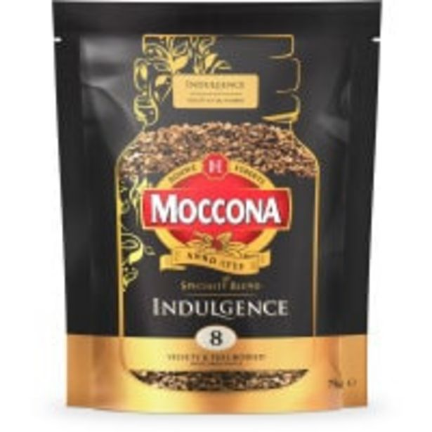 Moccona instant coffee indulgence offer at $6.9