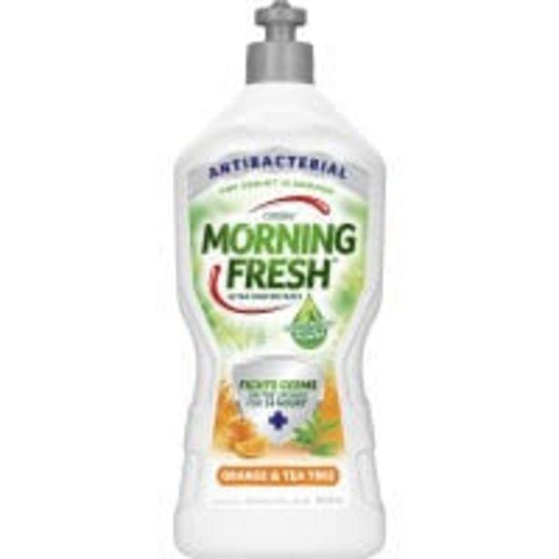 Morning fresh antibacterial dishwash liquid orange & tea tree offer at $3