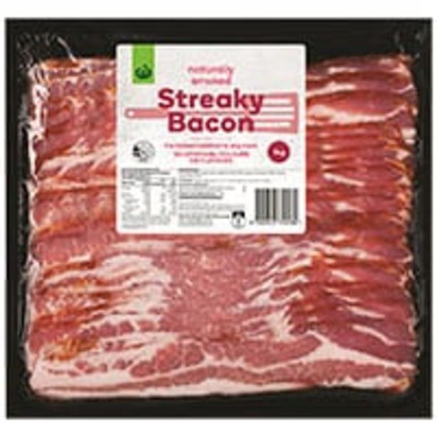 Countdown streaky bacon offer at $20