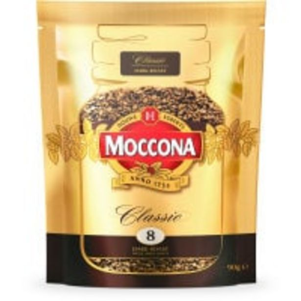 Moccona instant coffee classic dark offer at $6.9
