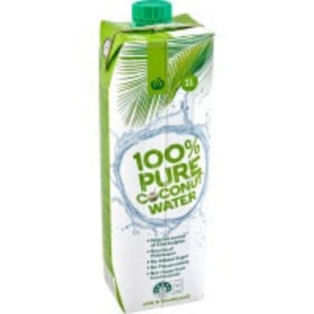 Countdown coconut water offer at $3
