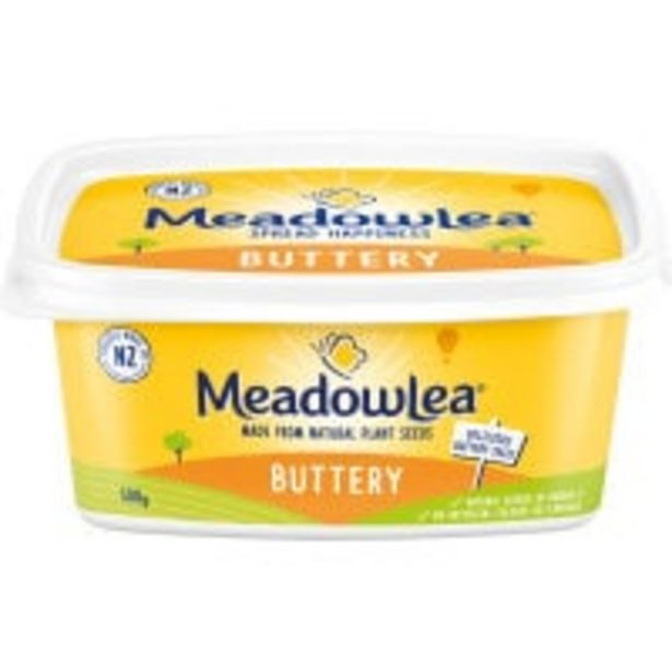 Meadowlea spread buttery offer at $2.9