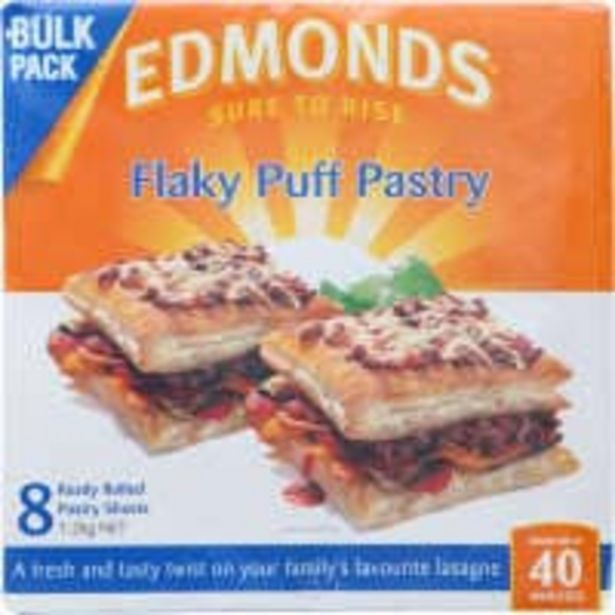Edmonds flaky puff pastry 8 sheets offer at $7.5