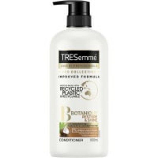 Tresemme botanique conditioner restore & shine offer at $5.9