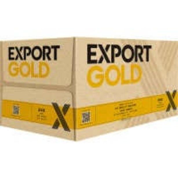 Export gold beer offer at $33