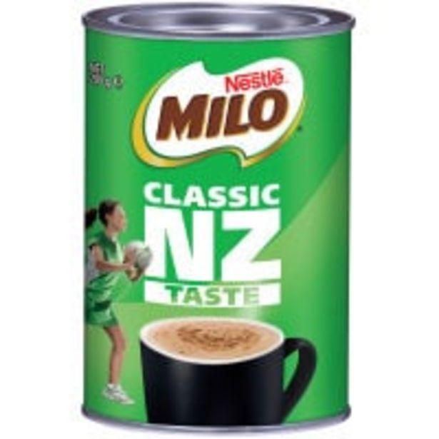 Nestle milo drinking chocolate offer at $3.25