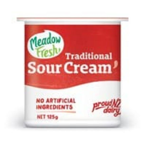 Meadow fresh sour cream offer at $1.7