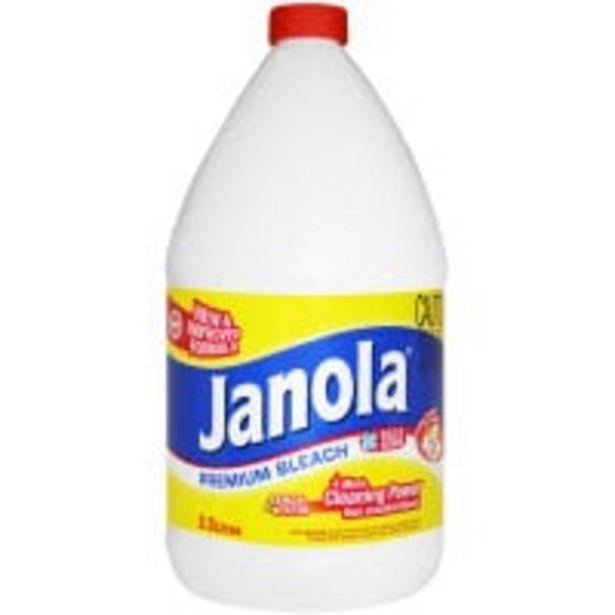 Janola bleach lemon offer at $4