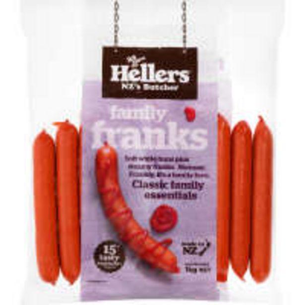 Hellers frankfurters family offer at $10