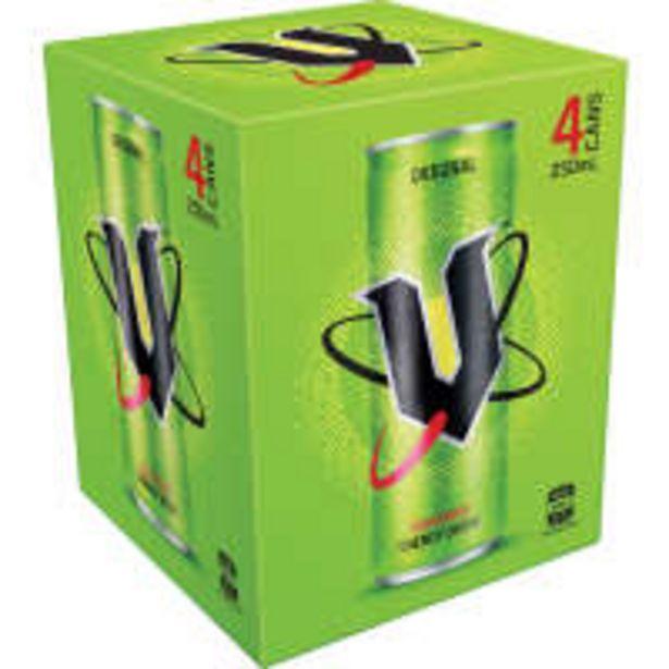 V vitalise energy drink 250ml offer at $6