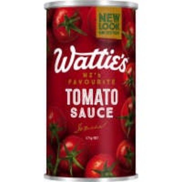 Wattie's tomato sauce offer at $2.5