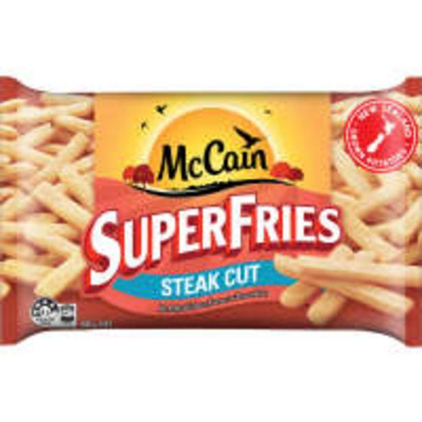Mccain superfries fries steak cut offer at $2.7