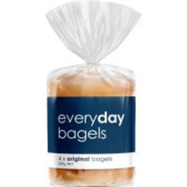 Everyday bagels 360g offer at $3.5
