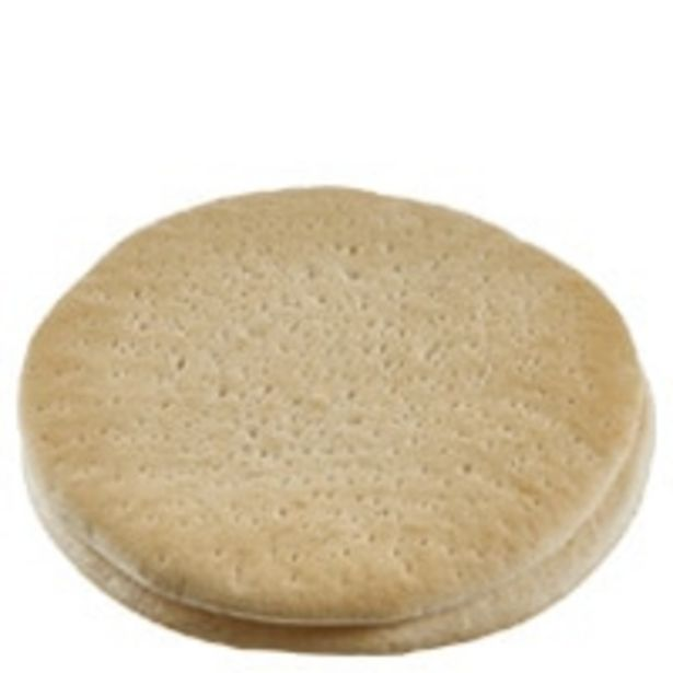 Instore bakery pizza bases large offer at $2.8
