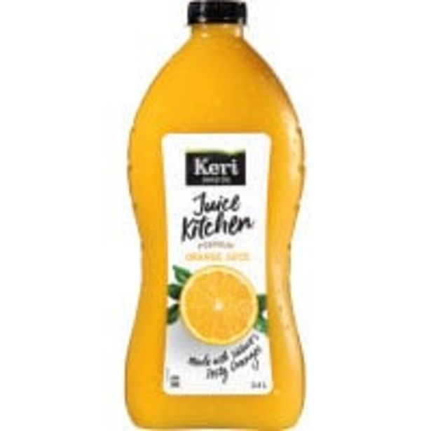 Keri premium fruit juice orange offer at $4