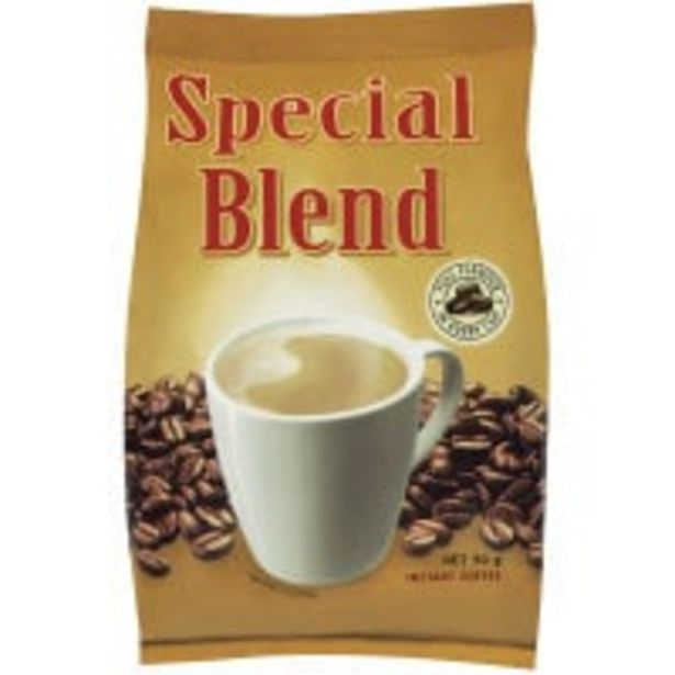 Special blend instant coffee powdered offer at $2