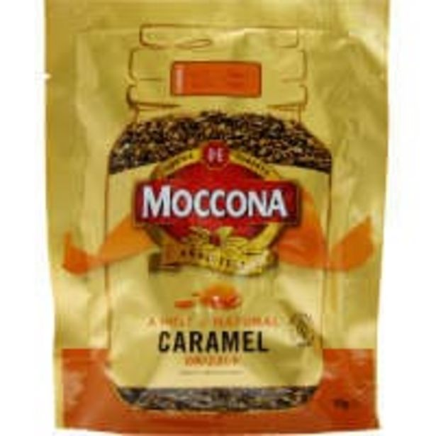 Moccona instant coffee caramel offer at $6.9