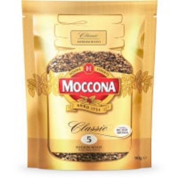 Moccona instant coffee classic medium offer at $6.9
