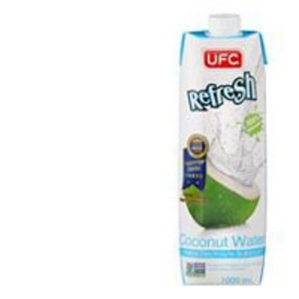 Ufc coconut water offer at $3.8