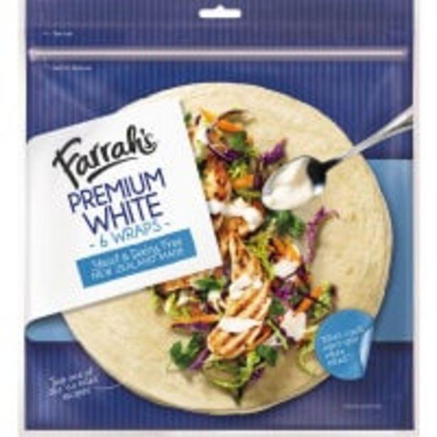 Farrah's wraps premium white offer at $5.5