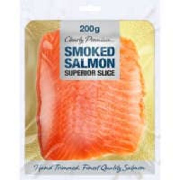 Clearly premium smoked salmon superior sliced offer at $12