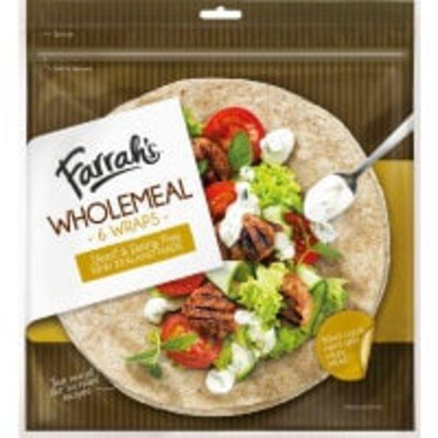Farrah's wraps wholemeal offer at $5.5